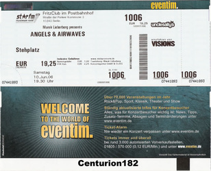angels airwaves koncert